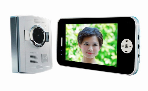 Hotsale 7inch wired video intercom cheapest for promotion