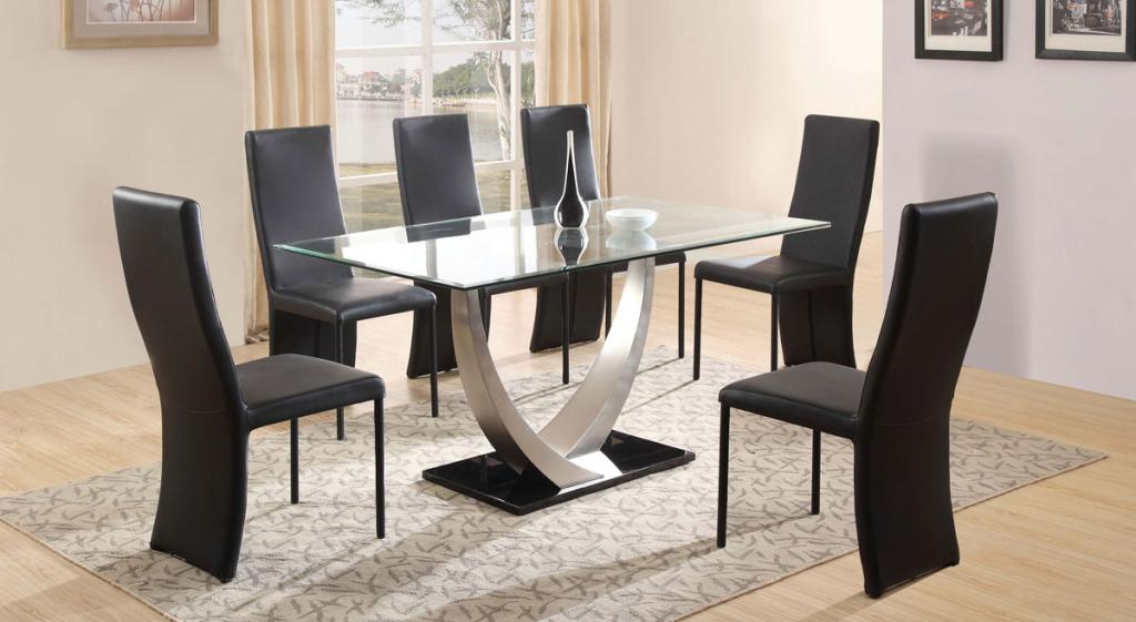 dt 4064 glass top dining table tradeasia global suppliers asia. Black Bedroom Furniture Sets. Home Design Ideas