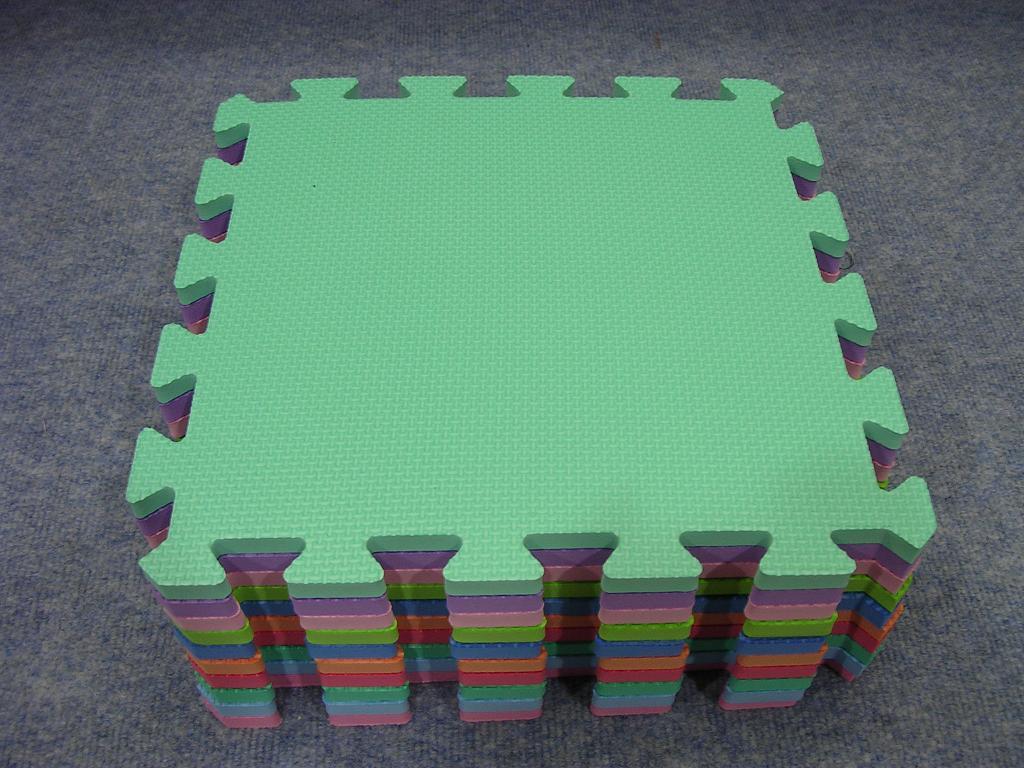 Rubber floor mat jigsaw - Eva Foam Jigsaw