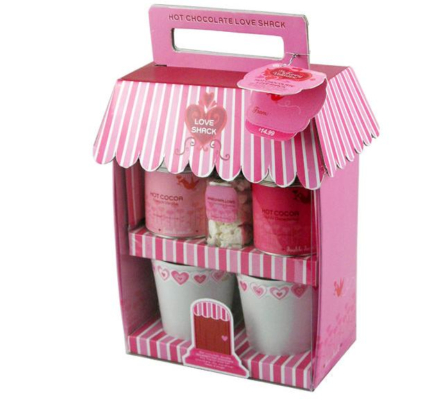 Cco  hot chocolate love shack gift set