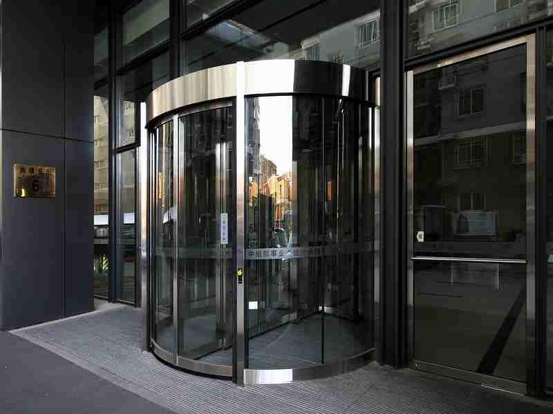 Obe revolving door technology co ltd automatic