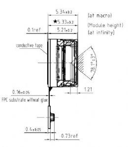 SUNNY BRAND Q8N09Q IMX179 sony sensor 8 0m pixel MIPI CSI 1080P