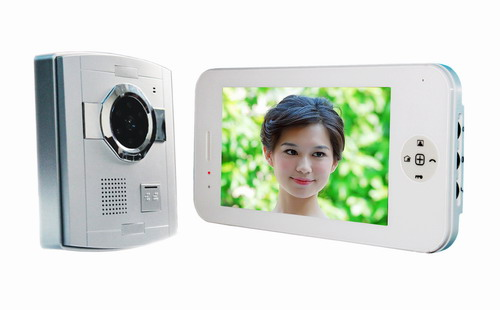 New hotsale Wholesale 7inch color video doorphone