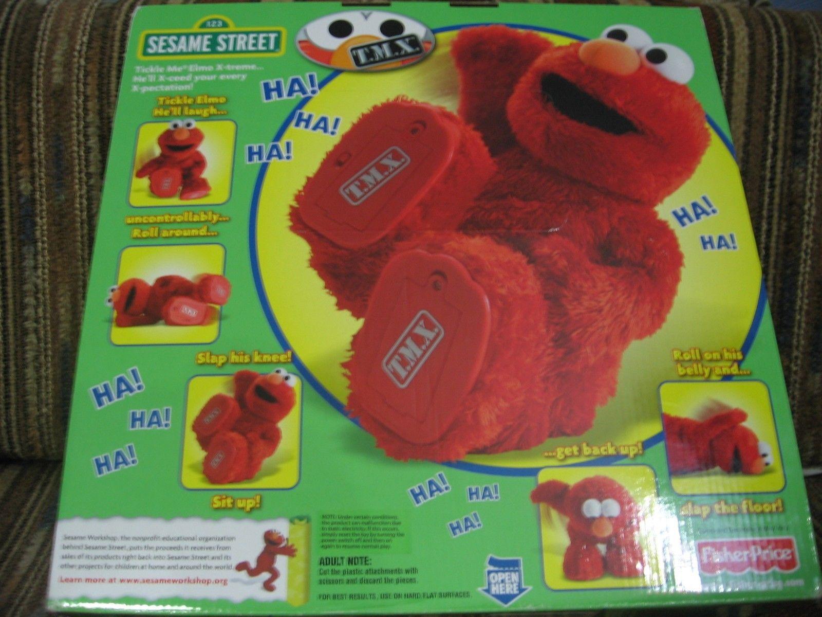 TMX Elmo, Brand New TMX Tickle Me Elmo Doll (2010 Release