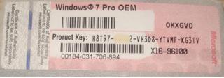 windows 7 professional serial key