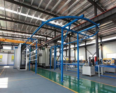 Aluminum Profile Powder coating machine