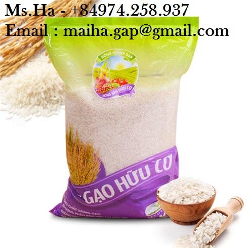 84974258938, Fragrant Rice Jasmine Vietnam 5% Broken Long Grain Rice