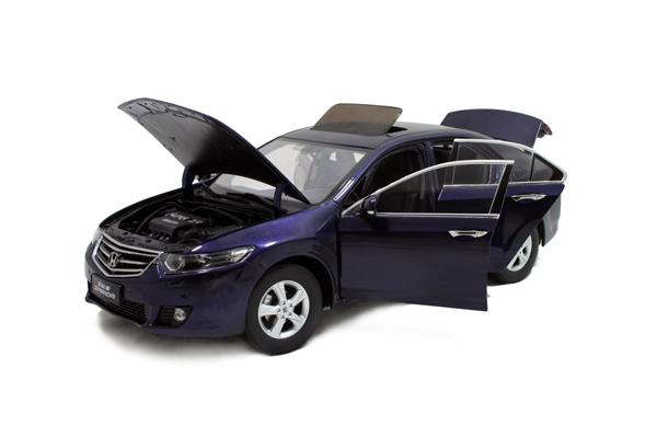 HO2009, Black 1:18 Honda Spirior 2009 Euro Accord Diecast