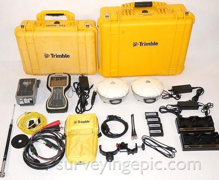 Trimble R8 Model 3 Base and Rover GNSS RTK set
