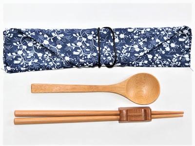Wooden Chopsticks+Spoon set