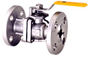 Full-Bore Two-Piece Flanged Ball valve