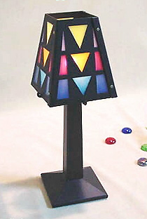 Colorful Candle Lamp