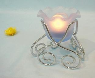 Flowerpot Candle Holder