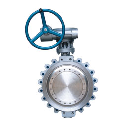 Triple Offset Multi-layers Metal Hard Sealing Butterfly Valve