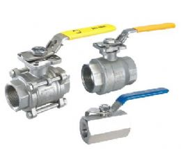 Threaded Ball Valves 1PC 2PC 3PC